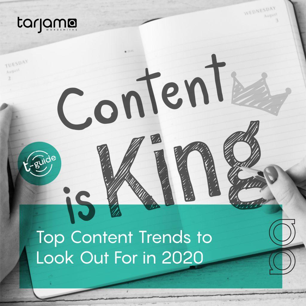 Top Content Trends in 2020 for Maximum Success